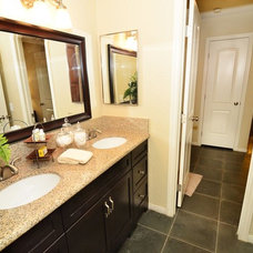 Contemporary Powder Room by Pro Staged Homes