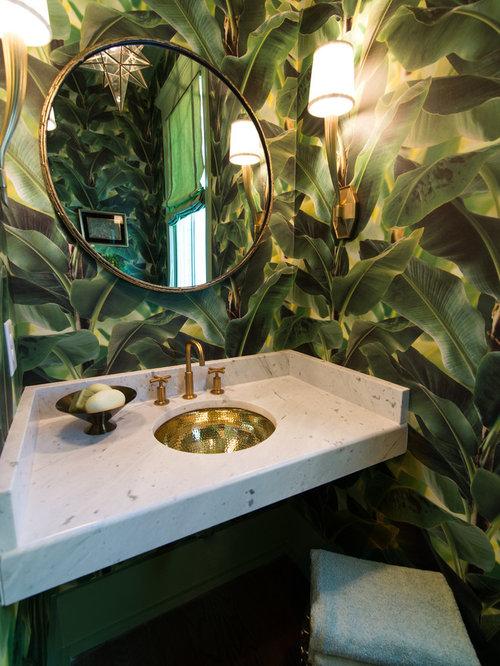 décoration wc exotique