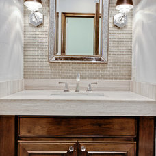 Traditional Powder Room by Veranda Fine Homes