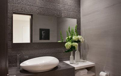 Bathroom Workbook: Layer on the Texture for High Bath Style