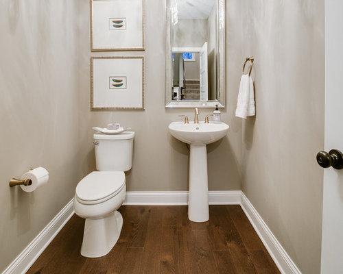 Bagno Beige Piccolo : Foto e idee per bagni di servizio bagno di servizio con parquet