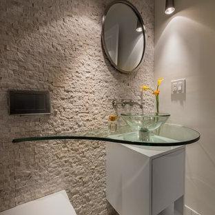 A concrete application to a Waltham kitchen renovation
