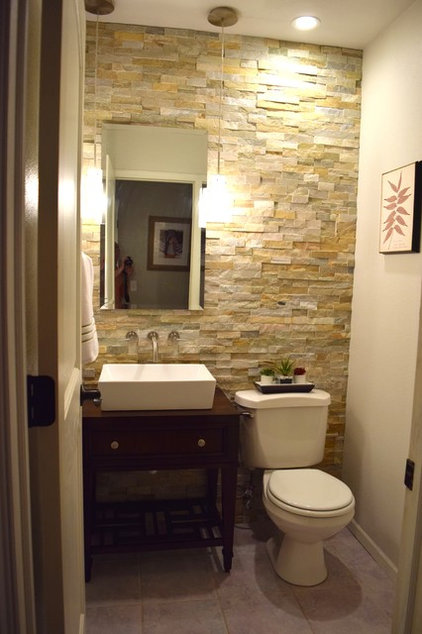 Powder Room A DIY Half Bath Transformation for $1,000
