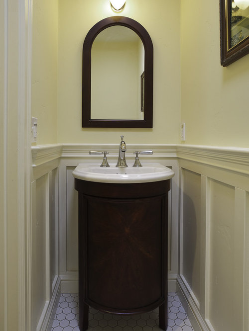 small powder room vanity houzz