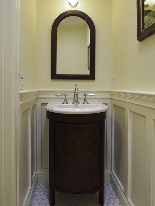 Powder Room Vanity small powder room vanity | houzz