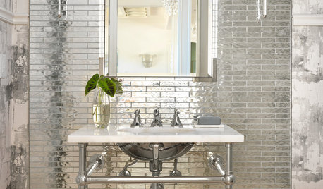 Powder Room Palettes: 10 Silvers That Shine Brightly
