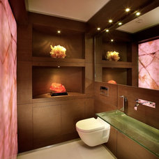 Modern Powder Room by Pepe Calderin Design- Modern Interior Design