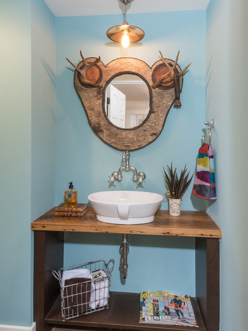 cabinets in bathroom country turquoise powder room design ideas renovations 12235