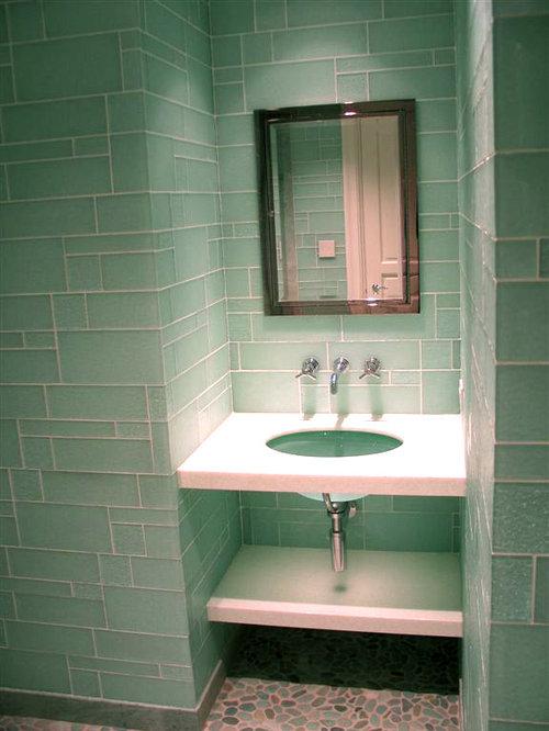 Piastrelle verdi per bagno piastrella da interno da bagno da pavimento da parete turchese - Tappeti moderni verde acido ...