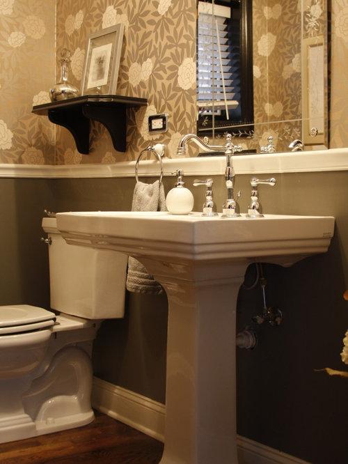 Chair Rail Bathroom
