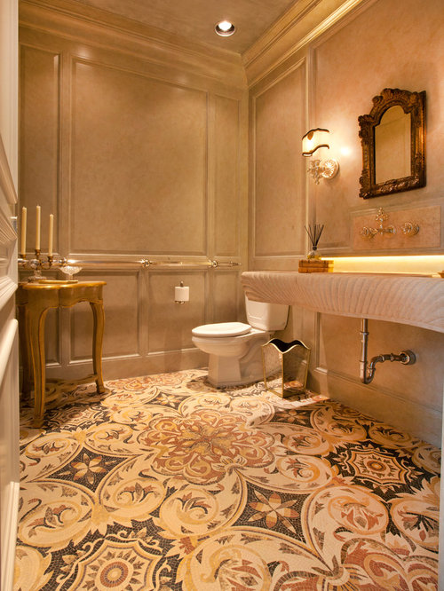 Decorative Tile Floor Houzz