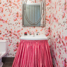 Contemporary Powder Room by Jacob Hand Photography
