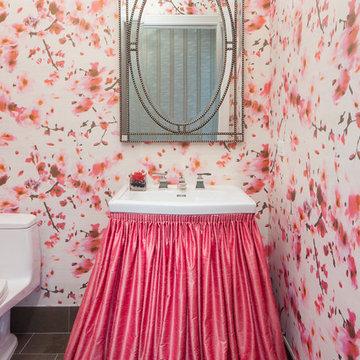 Anthony Michael Interior Design: Powder Room