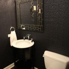 Contemporary Powder Room by Habitar Design