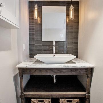 Arabescato Bathroom