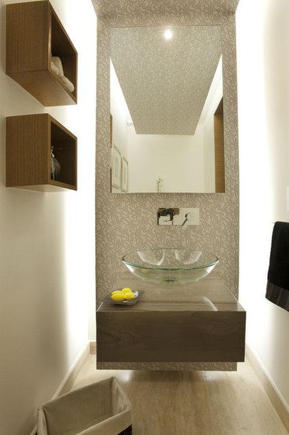 Contemporary Powder Room ARCO Arquitectura Contemporanea