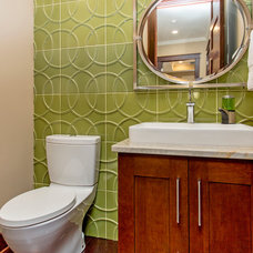 Traditional Powder Room by Homes by DePhillips