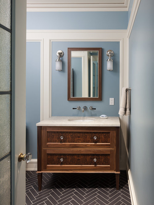 Powder Room Decorating Ideas Entrancing Best 100 Traditional Powder Room Ideas & Remodeling Pictures  Houzz Review