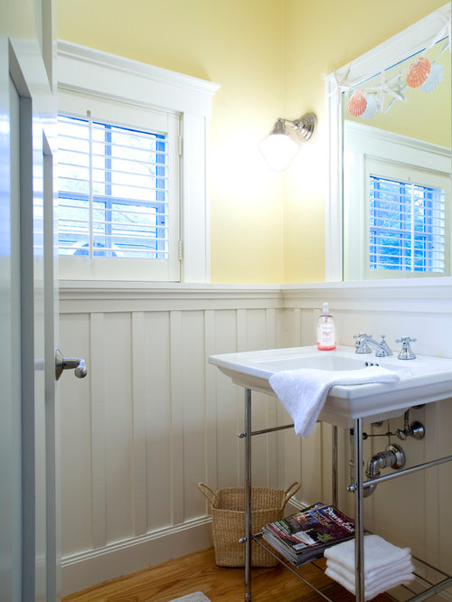 Bathroom Wainscot: Wainscot In Bathroom
