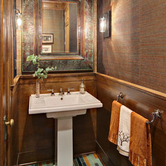 traditional powder room by Crystal Kitchen Center