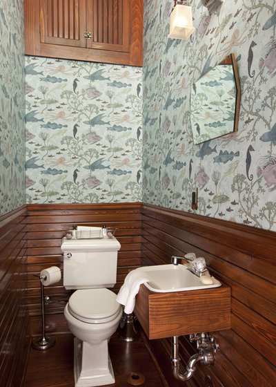 Coastal Cloakroom by VOH Architects