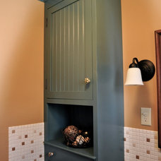 Traditional Powder Room by Solutions Design & Fabrication