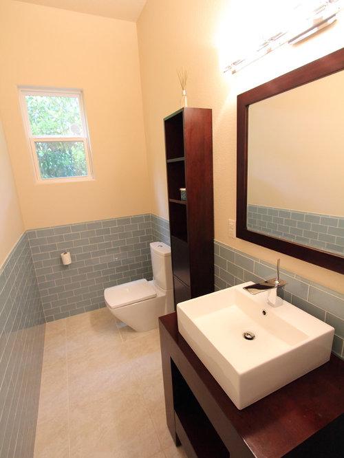 Idee e foto di bagni di servizio moderni houston for Moderno bagno ranch