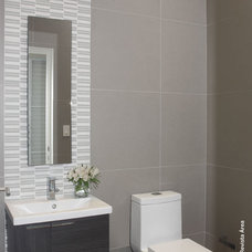 Modern Powder Room by Elsie Torres Interior Designs, Inc.