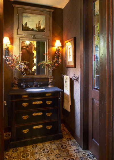 Design Details Powder Room Vanity Styles With Personality