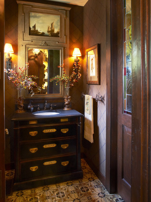 Small Powder Room Home Design Ideas, Pictures, Remodel and ...