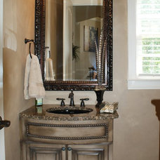 Traditional Powder Room by Norwood Interior Designs