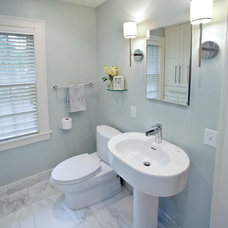 Traditional Powder Room by AB & K Bath and Kitchen