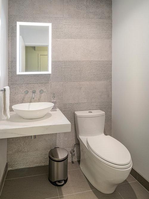 g stetoilette g ste wc mit marmor waschbecken waschtisch und zementfliesen ideen f r g stebad. Black Bedroom Furniture Sets. Home Design Ideas