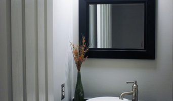 Bathroom staged to sell