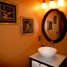 Contemporary Powder Room by Room Resolutions