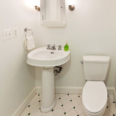 Traditional Powder Room by Artistic Design Build