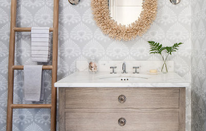 The 10 Most Popular Powder Rooms on Houzz Right Now