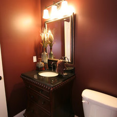 Traditional Powder Room by Village Home Stores