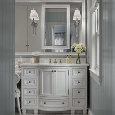 Beach Style Powder Room Beach Style Powder Room