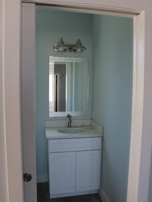 Foto e idee per bagni di servizio bagno di servizio al for Bagni in stile nantucket