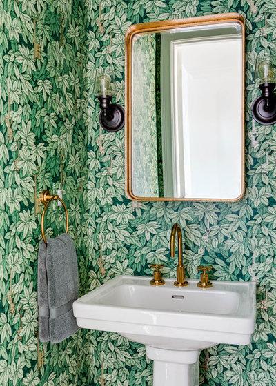 Nyklassisk Toalett by Eleven Interiors