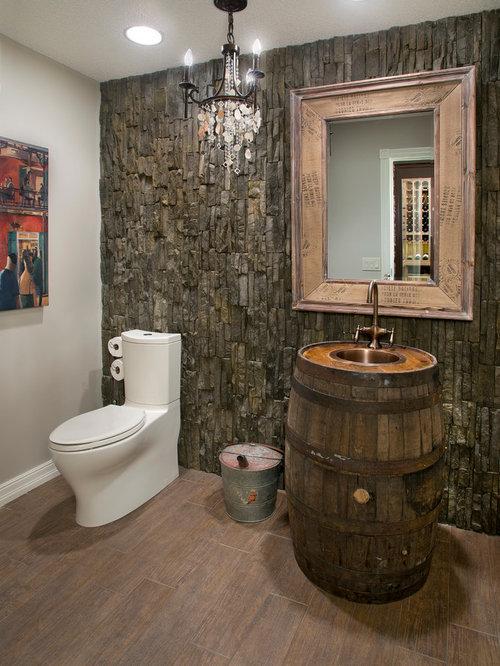 Whiskey Barrel Sink Home Design Ideas Pictures Remodel