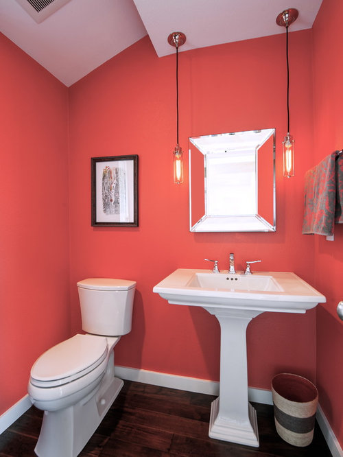 Coral Bathroom | Houzz