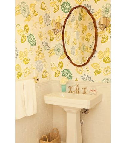 powder room by Elizabeth Dinkel