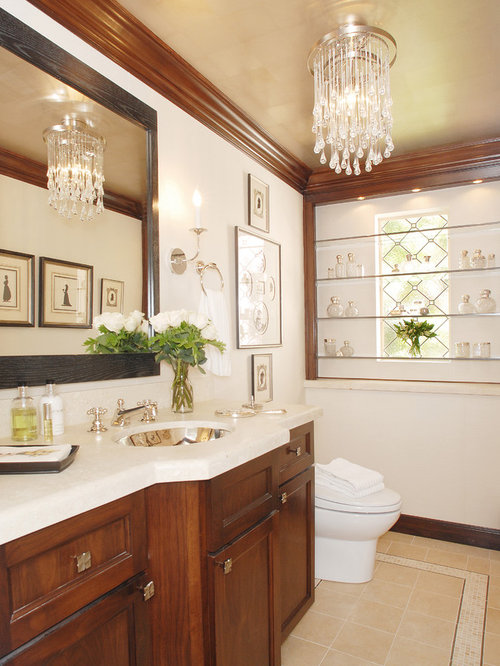 Stained Wood Crown Molding Houzz
