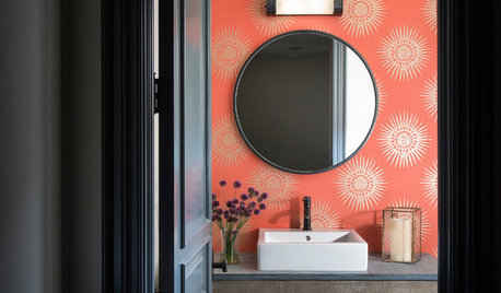 Picture Perfect: 26 Bathrooms With Colourful Accents