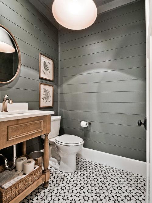 75 Large Powder Room Ideas: Explore Large Powder Room Designs ... on wallpaper powder bathroom, beach powder bathroom, houzz dining room,