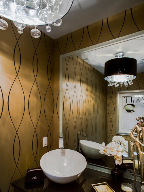26 Transitional Tampa Powder Room Design Ideas & Remodel Pictures | Houzz