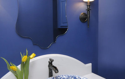 8 Bold Paint Colors for Your Powder Room