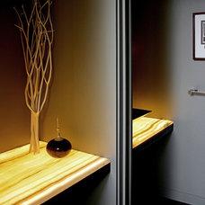 Modern Powder Room by Eggleston Farkas Architects